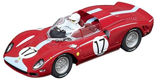 Carrera USA 20030834 Digital 132 Ferrari 365 P2 Maranello Concessionaires no 17 Slot Car Racing Vehicle Red