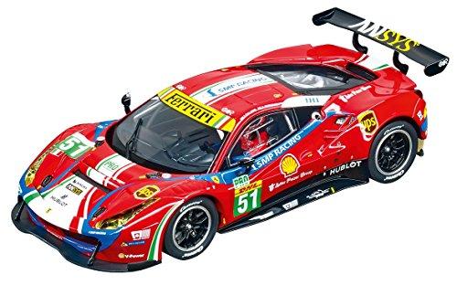 Carrera USA 20030848 Digital 132 Ferrari 488 GT3 AF Corse No51 Slot Car Racing Vehicle Red