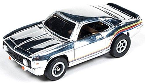 Auto World 272 1969 Chevy Camaro Chrome Xtraction Ultra G HO Slot Car