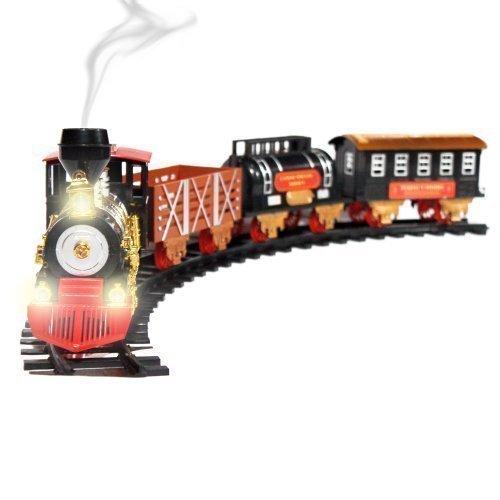 148 Large Scale Christmas Train Set - Lights Sounds and Real Smoke