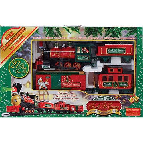 27 Piece North Pole Express Christmas Train Set