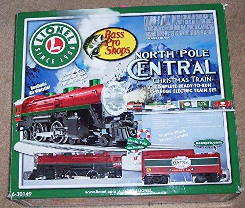 6-30149 North Pole Central Christmas Train Set Bass Pro Shop