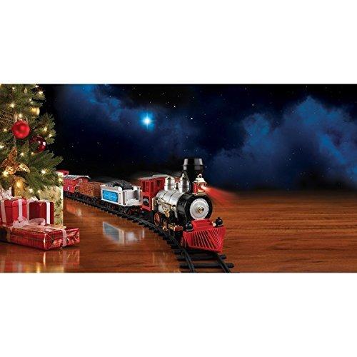 Blue Hat North Pole Junction Christmas Train Set Multiple