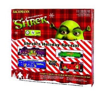 Bachmann Trains Shreks Holiday Special Railroad Ready-to-Run HO Train Set