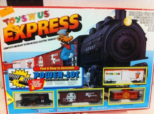Vintage Toys R Us Express HO Train Set w Geoffrey Giraffe Car New in Box