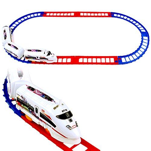 EITC Electric Train Set Track Toy for Kids Mini Train Railway Track Set