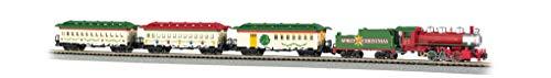 Bachmann Trains - Spirit Of Christmas Ready To Run Electric Train Set - N Scale