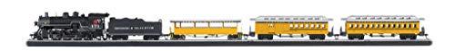 Bachmann Trains - Durango Silverton Ready To Run Electric Train Set - HO Scale