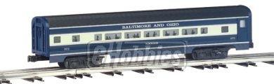 Williams by Bachmann Baltimore Ohio Aluminum Luxury Liner Passenger 4 Car Train Set 60