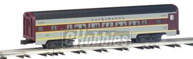Williams by Bachmann Lackawanna Aluminum Luxury Liner Passenger 4 Car Train Set 60