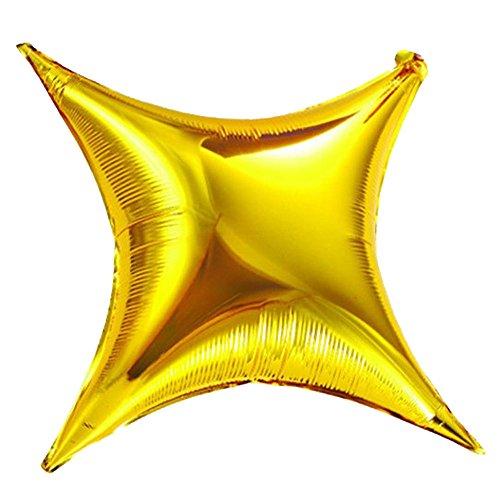 20pcs Star Shape Gold balloons Foil Mylar Helium Balloon 26 Balloon Birthday Party Decoration Foil Balloons