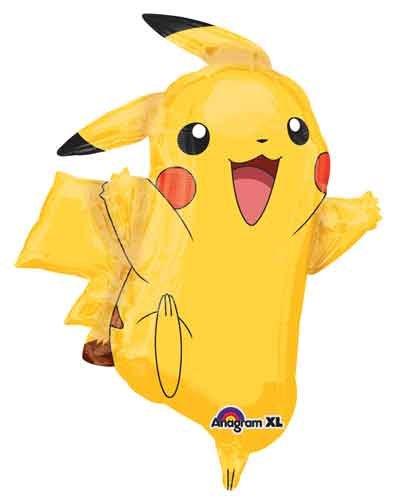 31 Pikachu Pokemon Shape Balloon