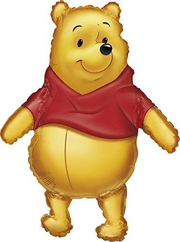 Anagram International 833501 Big As Life Pooh Shape Balloon Pack 29