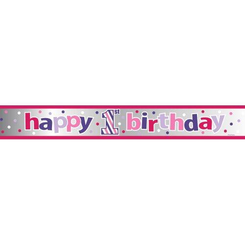 SWEET STRIPES - GIRL Banner Foil 6