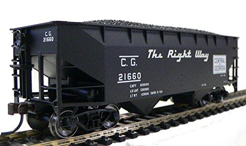 HO Scale Central of Georgia Coal Hopper for Model Railroad Trains 21660