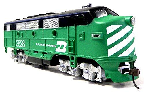 HO Scale Model Railroad Locomotive Burlington Northern F-2
