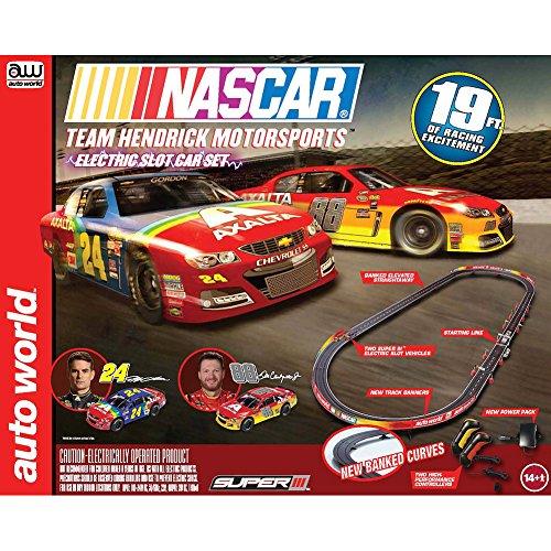 NASCAR Team Hendrick Motorsports Electric Slot Race Set Gordon Earnhart Jr