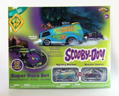 NKOK Box of Glow in The Dark RC Scooby Doo Race Set