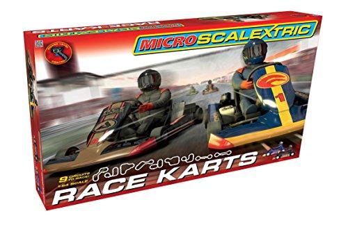 Scalextric Micro G1120T Race Karts 164 Slot Car Race Set