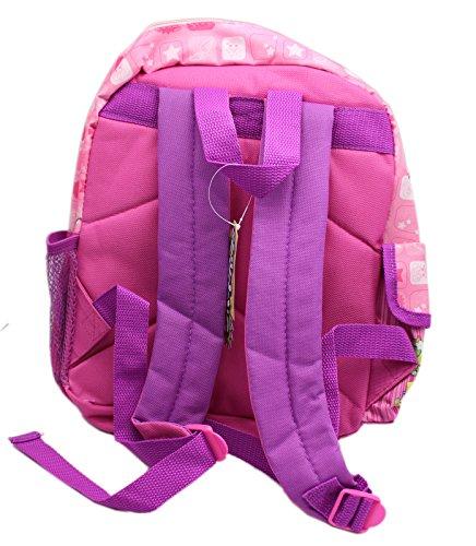 Backpack - Shopkins - Pink Large School Bag 16 New 415074