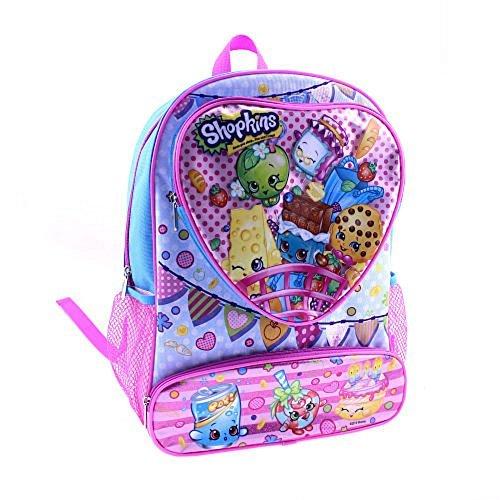 Shopkins 16 Backpack Heart