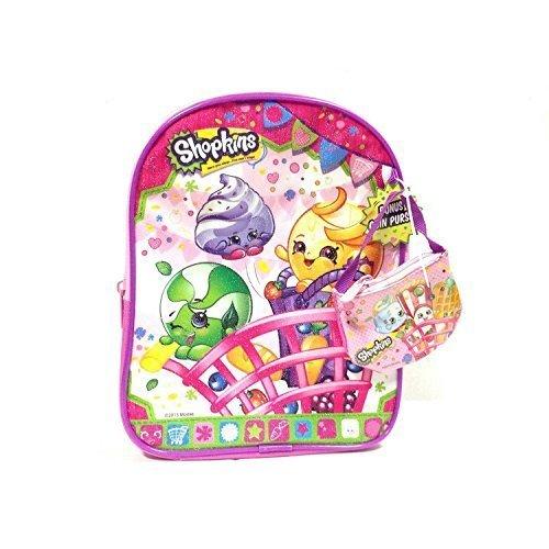 Shopkins Mini Backpack with Mini Coin Purse