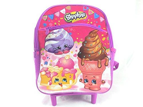 Shopkins Shopkins 12 GIRLS Kids Toddler Rolling Backpack-408090