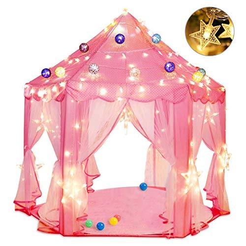 Princess Castle Play Tent Pink