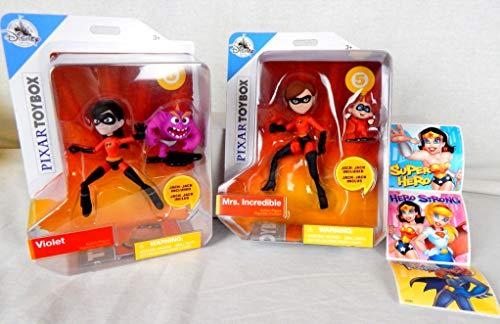 Incredibles2 Toybox Bundle MrsIncredible wJack Jack and Violet wJack Jack