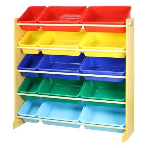 FUNATURE Kids Toy Organizer With Storage Bins