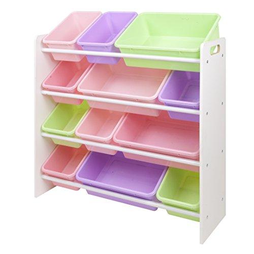 Kid Bin Toy Organizer Kids Toy Storage Pastel