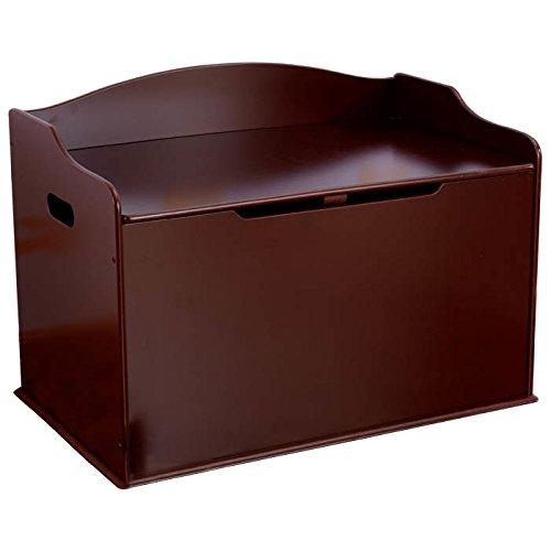 KidKraft Austin Wood Toy Box Chest Bench - Cherry