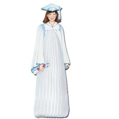 Graduation Girl Centerpiece-13 by Beistle