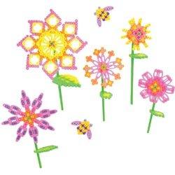 Bulk Buy Perler Beads 2-Pack Shapes Fun Fusion Fuse Bead Activity Kit Blooming Flowers 80-56001