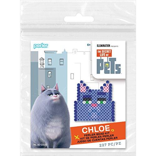 Perler Beads 80-53020 Secret Life of Pets Chloe Fuse Bead Activity Kit
