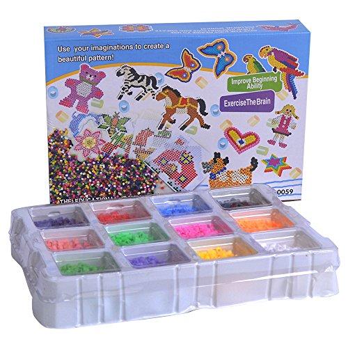 SuSenGo 4000PCS Fuse Beads of 12 Neutral Color