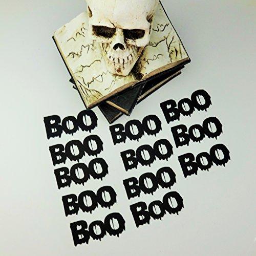 Confetti Designer Halloween Cardstock BOO 12 PC