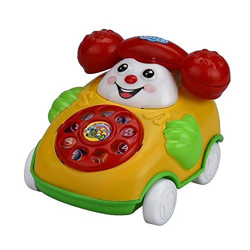 AckfulEducational Toys Cartoon Smile Phone Car Developmental Kids Toy Gift
