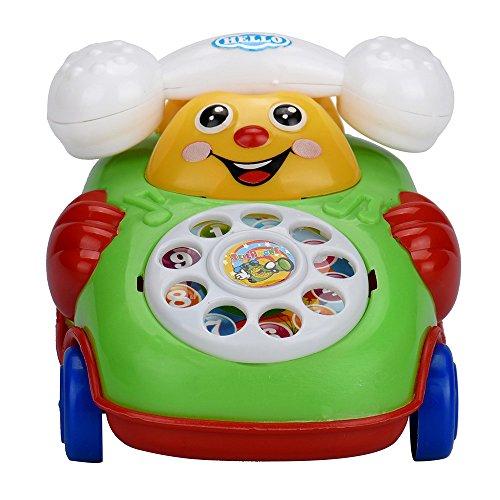 Clearance SaleDEESEETM Educational Toys Cartoon Smile Phone Car Developmental Kids Toy Gift