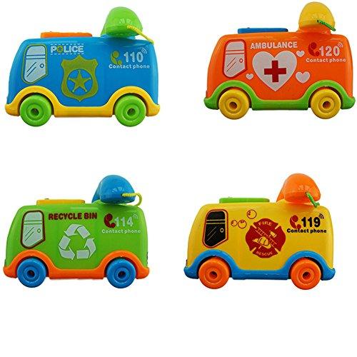 buyanputra Funny Music Cartoon Bus Phone Toy Educational Developmental Kids Toy Gift