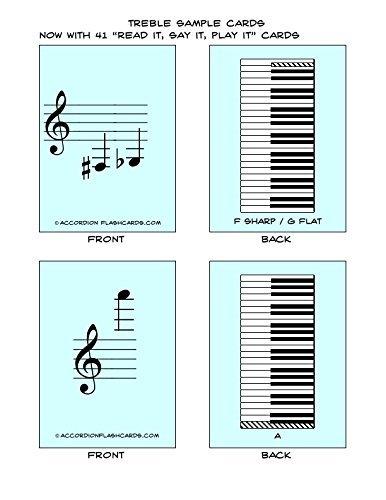 Accordion Flashcards- Treble Set