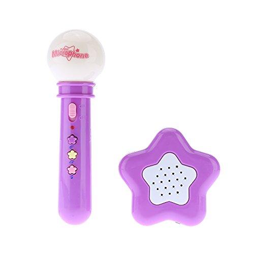 Children Toy Portable Microphone Mike Megaphone Loudspeaker Karaoke Singing Music Toy Kids Music Instrument Color Random Delivery