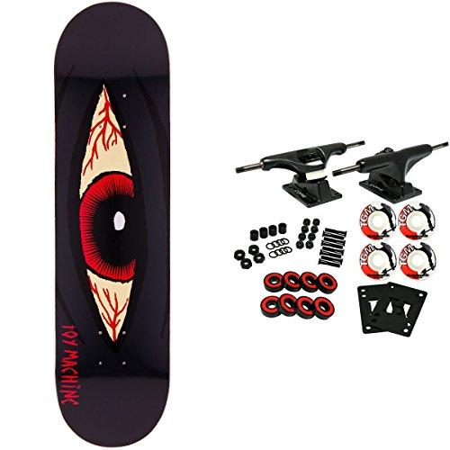 Toy Machine Skateboard Complete Bloodshot Black 8125