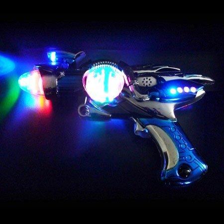 GLOW Novelty Magic Spinner Gun with Sound