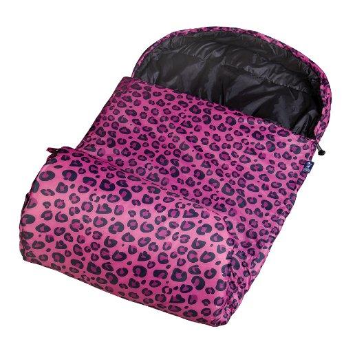 Wildkin Leopard Stay Warm Sleeping Bag