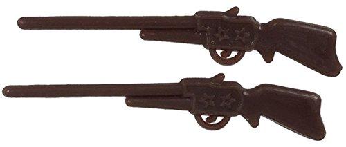 Dollhouse Miniature Set of 2 Rifles by International Miniatures Toy