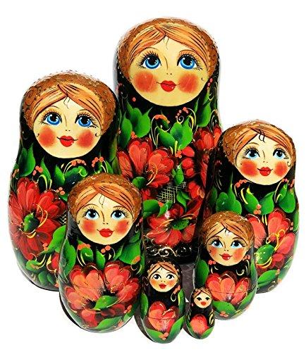 Gerbera 7 Piece Russian Matryoshka Doll