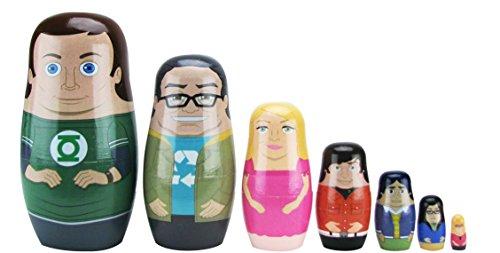 The Big Bang Theory Nesting Dolls Set of 7