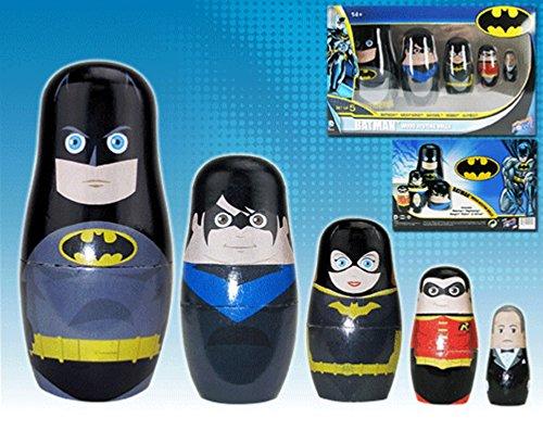 DC Comics Batman Family Nesting Dolls Set of 5