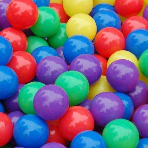 50 Pcs Colorful Soft Plastic Ocean Fun Ball Balls Baby Kids Tent Swim Pit Toys Game Gift 276 Random colors